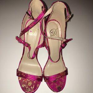 Brand New Diva Pink China Print Chun Li Heels 👠